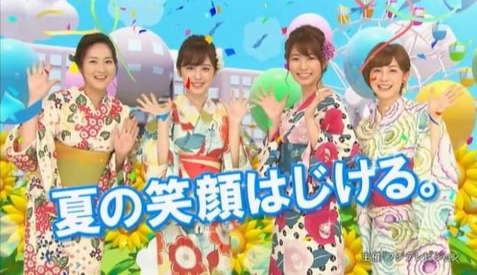 お台場みんなの夢大陸2017(7/15~)にアナウンサーイベント復活!