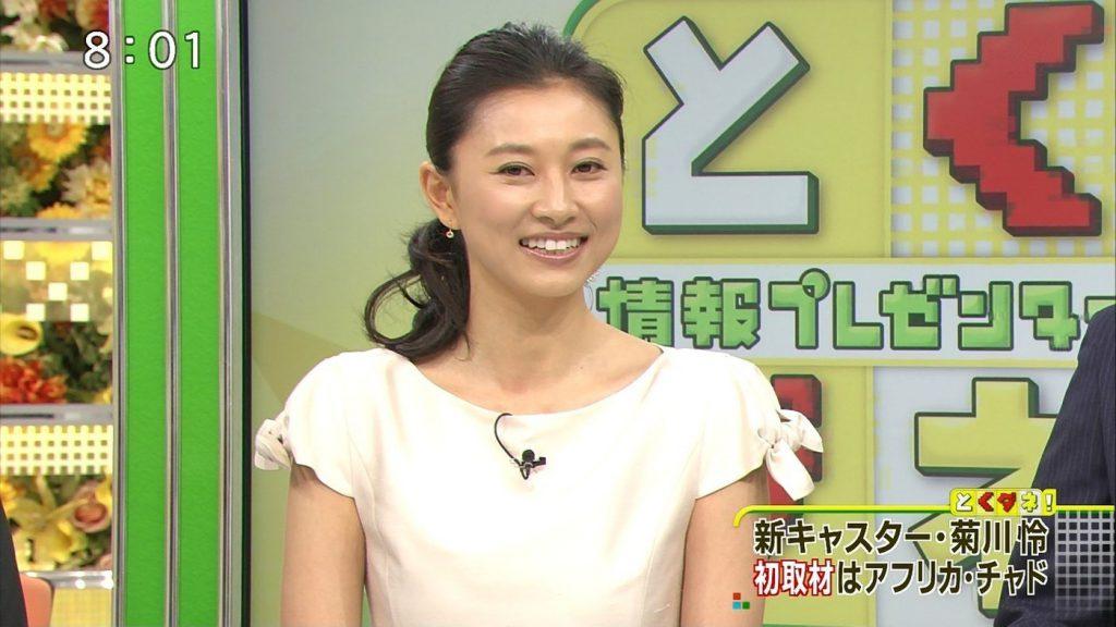 菊川怜さんが9月末でとくダネ!MCを卒業!10月以降の後任を「検討中」なら若手アナ抜擢を!