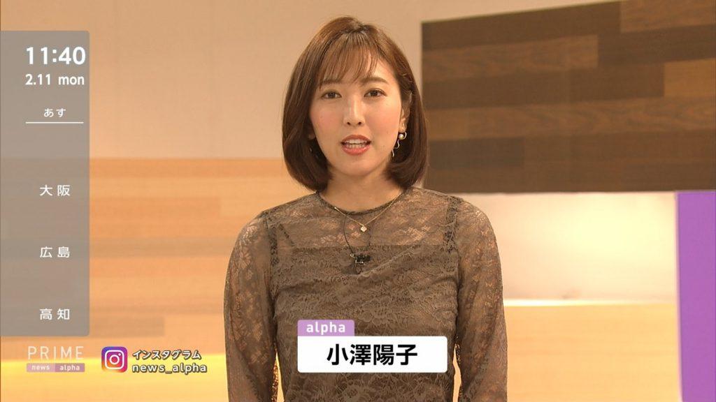 """女子アナの""""素""""っぴん(小澤陽子アナ)vol30が更新!"""